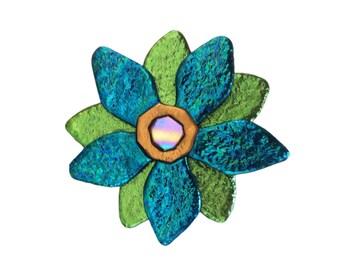 Beauty Flower Pin, Flower Pin, Floral Jewelry ,Flower Brooch, Flower Jewelry