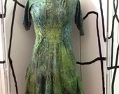 Spring Green Tunic Top L