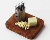Dolls House Miniature Grated Cheese Board