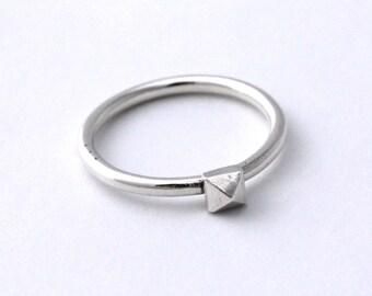 Mini Pyramid Stackable Ring