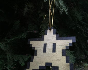 have yourself a mario christmas - super mario power up ornament