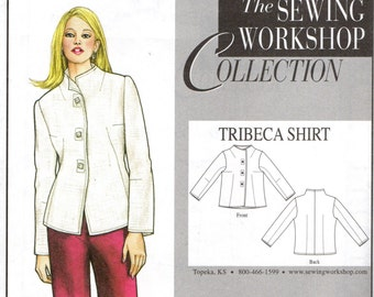 The Sewing Workshop TRIBECA SHIRT