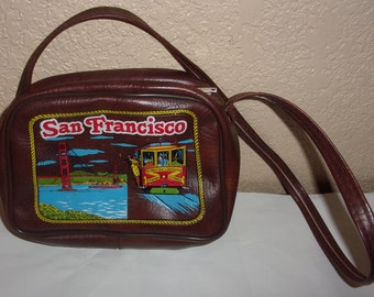 Vintage SAN FRANCISCO Tourist Souvenir Small Purse