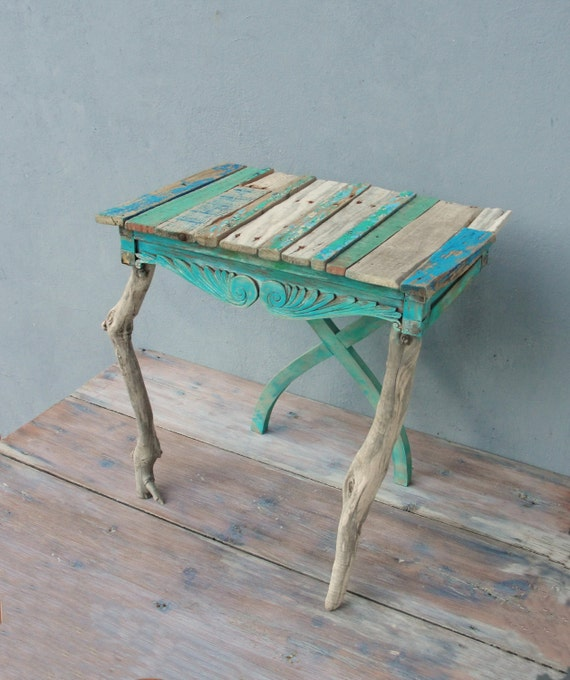 Driftwood End Table: Driftwood Table Boatwood Side Table End Table With Driftwood