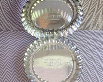 Four Vintage Dr. Oetker German Tart Pans