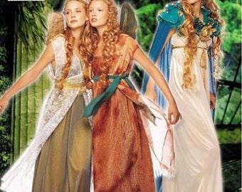 Simplicity 9454 - Ladies' Fairy Pixie Elf Wings Halloween Costume Pattern 6-8-10-12