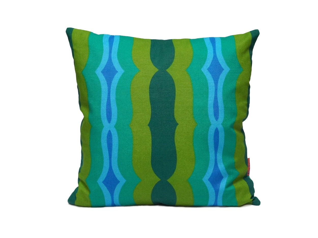 Mid Century Modern Pillow Covers : Mid Century Modern Retro pillow cover 40x40 / 16x16