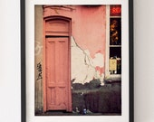 Door Photography, Tarot Reader, New Orleans Photography, Rustic Wall Art, Rustic Photography, French Quarter, Pink Decor, Psychic Readings