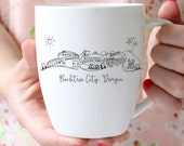 PRESALE Peachtree City, Georgia Skyline Mug