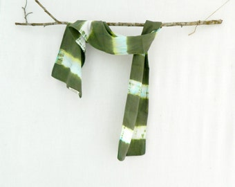 EUCALYPTUS . tie dye scarf . eucalyptus green . soft cotton . boho bohemian gypsy hippy festival hippie chic . australia . hand dyed scarf