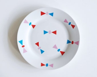 Bows breakfast plate