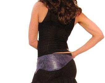 Black Mini Flirt Skirt - Ruffles