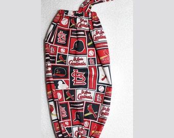 Plastic Bag/Grocery Bag Holder - Baseball - St Louis Cards #2