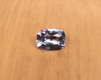 Loose Sapphire - Natural Medium Blue Sapphire Gemstone for Your Cushion cut Engagement Ring - LSG324