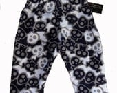 On SALE Skull And Crossbones - Punk Rock Baby - Skull Baby - Camo Pants - Baby Boy Pants - Girl Pants - Baby Pants - Blue Pants - 12m & 18m
