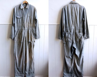 1940s /1950s Blue Bell Denim Coveralls // Sanforized Workwear // 40 Regular