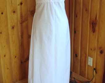 Regency Era style sleeveless slip---Size 6