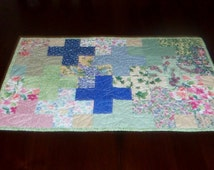 Unique Patchwork Of Crosses Related Items Etsy