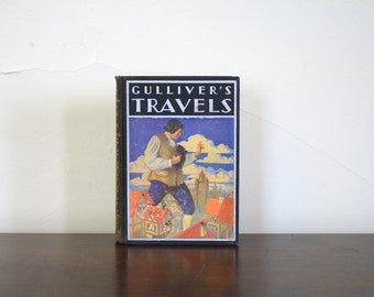 Vintage Gulliver's Travels Book, 1936 Edition
