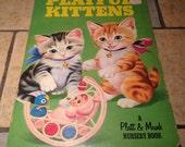 Playful Kittens Children's Board Book by Platt and Munk