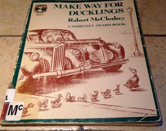 1969 Make Way For Ducklings Children's Book