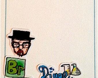 BREAKING BAD stickers! HEISENBERG