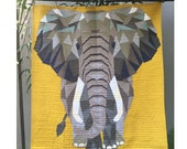 Elephant Abstractions - A PDF Quilt Pattern
