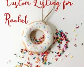 Custom Listing for Rachel - Sprinkled Donuts for a Baby Sprinkle