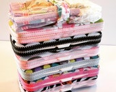Designer Travel Wipes Case with Diaper Strap- You Choose Fabric