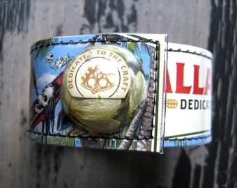 Ballast Point Even Keel Wrist Cuff with Hops Snap