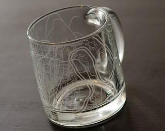 Nashville Map Coffee Mug
