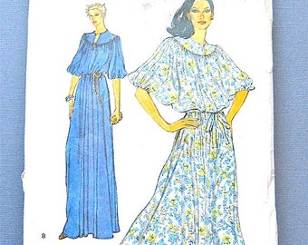 Vintage Vogue 7128 Dress Sewing Pattern Evening Dress  Bust 32.5 inches