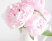 Peony Photography, Pink Peonies, Photography Print, Pink Photography, Flower Photography, Flower Photo, Pink Flower Photo, Gallery Wall