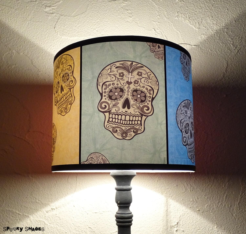 skull lamp | etsy