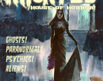 HAUNTED HOUSE of HORROR! Comics Magazine by Mike Hoffman
