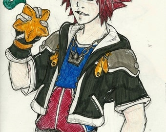 Kingdom Hearts Originals - KH2 Sora