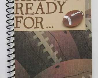 Are You Ready For... Spiral Bound Altered Notebook