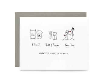 Made in Heaven - letterpress card
