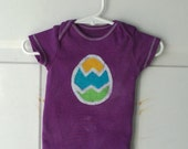 Easter Baby Bodysuit (6 months), Easter Egg Bodysuit, Easter Baby Shirt, Easter Baby Boy, Easter Baby Girl, Baby's First Easter