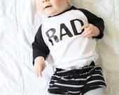 Shorties | Gray and Black Stripes | Sizes 3 Months to 5T | boy shorts, girl shorts, summer shorts, unisex shorts