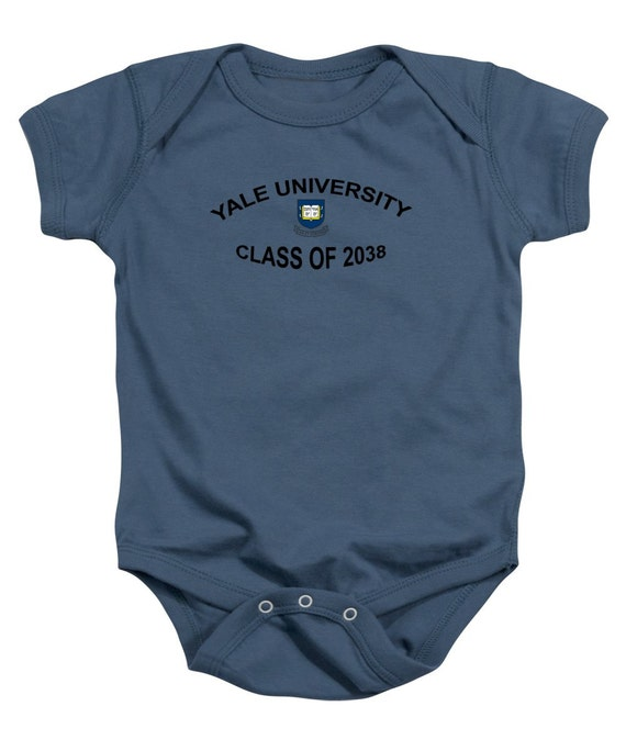 Yale University Class Of 2038 Baby Onesie By Daviddehnerprints