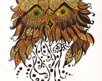 The Wise Old Owl Cards