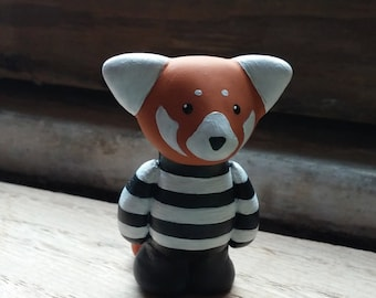 Walter The Red Panda Figurine by SBMathieu