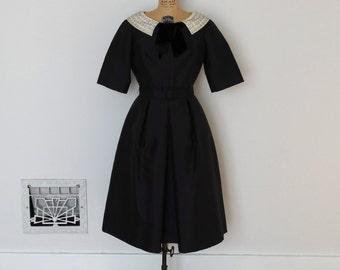 Vintage 1960s Dress - 60s Party Dress - The Mimi