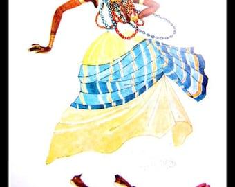 Batuque, Samba, and Macumba- Drawings of Gestures and Rhythm, 1926 - 1934 (2)