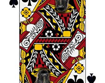 Belgian Malinois Shepherd  Handmade Card