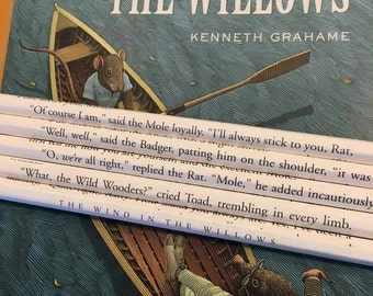 The Wind in the Willows Wrapped Pencil Set