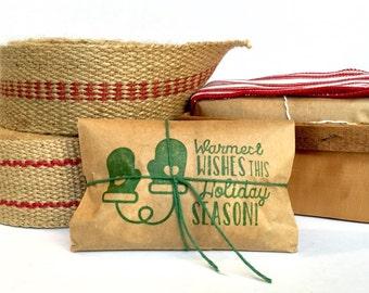Stocking Stuffer // Hostess Gift // Freshly roasted coffee Set of 3. Coffee gift under 20.