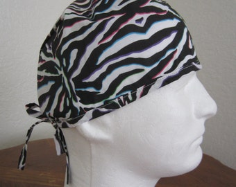 Traditional Tie-back Surgical Scrub Hat