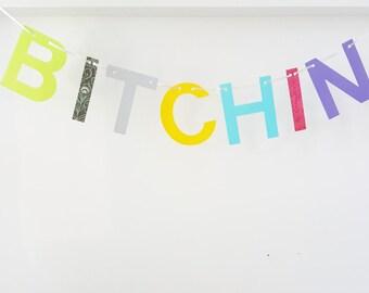 BITCHIN banner